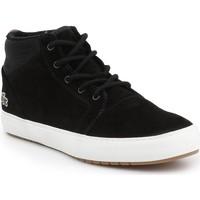 Sko Herre Høje sneakers Lacoste Ampthill Chukka 417 7-34CAW0065024 black