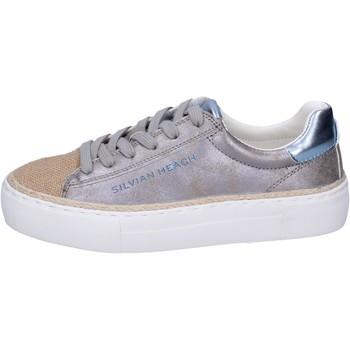 Sko Pige Sneakers Silvian Heach BK489 Sølv