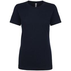 textil Dame T-shirts m. korte ærmer Next Level NX3900 Midnight Navy
