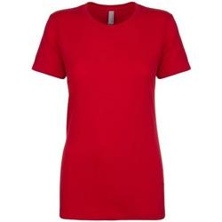 textil Dame T-shirts m. korte ærmer Next Level NX3900 Red