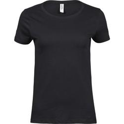 textil Dame T-shirts m. korte ærmer Tee Jays T5001 Black