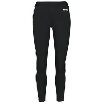 textil Dame Leggings adidas Originals W E 3S TIGHT Sort / Hvid