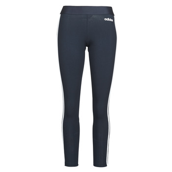 textil Dame Leggings adidas Originals W E 3S TIGHT Encleg / Hvid