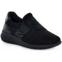 Sko Dame Lave sneakers Grunland 78CALL Nero