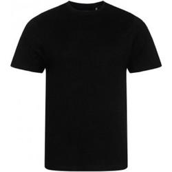 textil Herre T-shirts m. korte ærmer Ecologie EA001 Jet Black