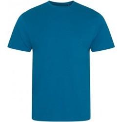 textil Herre T-shirts m. korte ærmer Ecologie EA001 Ink Blue