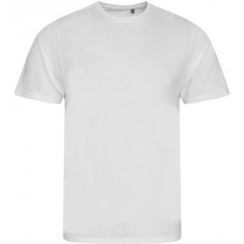 textil Herre T-shirts m. korte ærmer Ecologie EA001 Arctic White