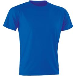 textil Herre T-shirts m. korte ærmer Spiro SR287 Royal