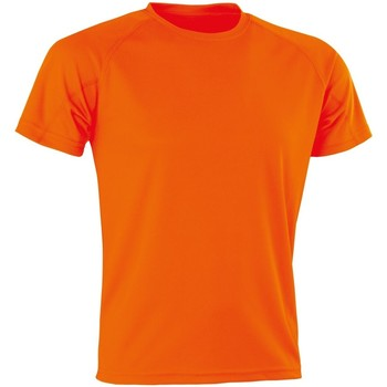 textil Herre T-shirts m. korte ærmer Spiro SR287 Flo Orange