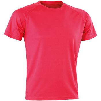 textil Herre T-shirts m. korte ærmer Spiro SR287 Super Pink