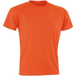 textil Herre T-shirts m. korte ærmer Spiro SR287 Orange