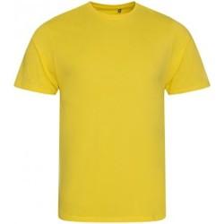 textil Herre T-shirts m. korte ærmer Ecologie EA001 Sun Yellow