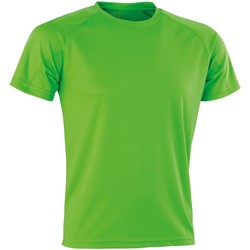 textil Herre T-shirts m. korte ærmer Spiro SR287 Lime Punch