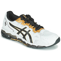 Sko Herre Lave sneakers Asics QUANTUM 360 6 Hvid / Sort / Guld