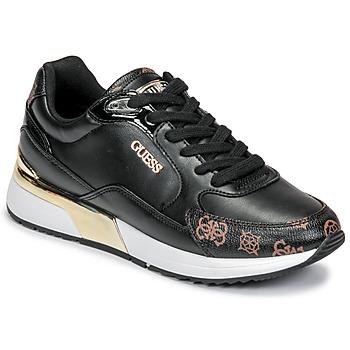 Sko Dame Lave sneakers Guess MOXEA Sort