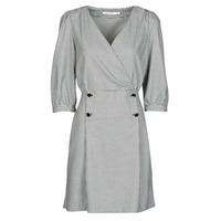 textil Dame Korte kjoler Naf Naf  Sort / Hvid