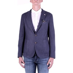 textil Herre Jakker / Blazere Manuel Ritz 2932G2728TW-203507 Blu