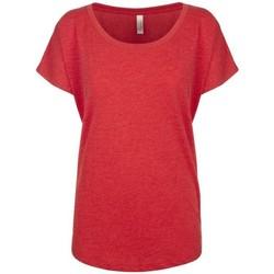 textil Dame T-shirts m. korte ærmer Next Level NX6760 Vintage Red