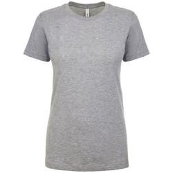 textil Dame T-shirts m. korte ærmer Next Level NX1510 Heather Grey