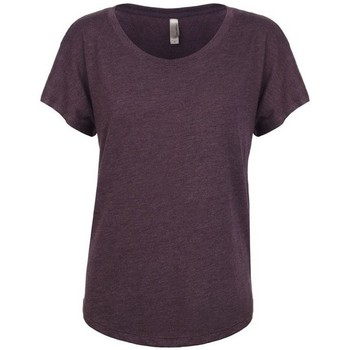textil Dame T-shirts m. korte ærmer Next Level NX6760 Vintage Purple