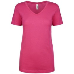 textil Dame T-shirts m. korte ærmer Next Level NX1540 Raspberry