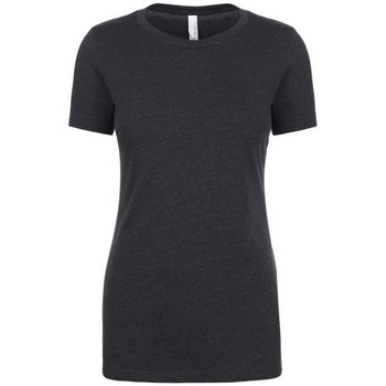 textil Dame T-shirts m. korte ærmer Next Level NX6610 Charcoal