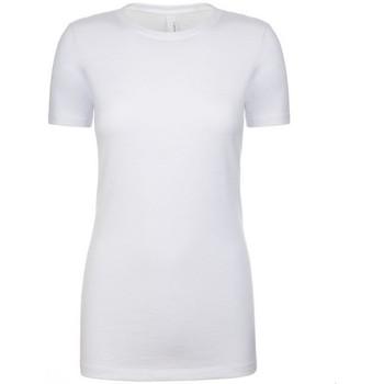 textil Dame T-shirts m. korte ærmer Next Level NX6610 White