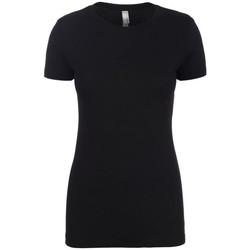 textil Dame T-shirts m. korte ærmer Next Level NX6610 Black
