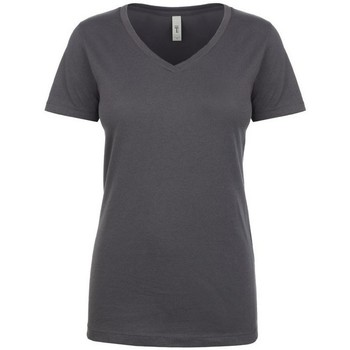 textil Dame T-shirts m. korte ærmer Next Level NX1540 Dark Grey
