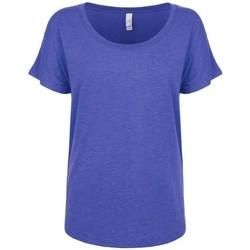 textil Dame T-shirts m. korte ærmer Next Level NX6760 Vintage Royal Blue