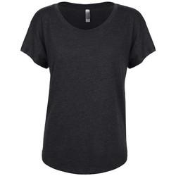 textil Dame T-shirts m. korte ærmer Next Level NX6760 Vintage Black