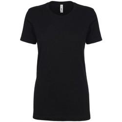 textil Dame T-shirts m. korte ærmer Next Level NX1510 Black