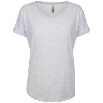 textil Dame T-shirts m. korte ærmer Next Level NX6760 Heather White