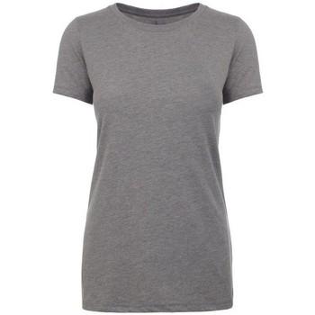 textil Dame T-shirts m. korte ærmer Next Level NX6610 Dark Heather Grey