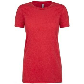 textil Dame T-shirts m. korte ærmer Next Level NX6610 Red