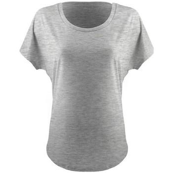 textil Dame T-shirts m. korte ærmer Next Level NX1560 Heather Grey