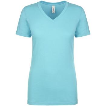 textil Dame T-shirts m. korte ærmer Next Level NX1540 Tahiti Blue