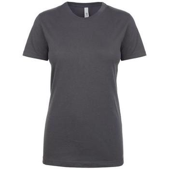 textil Dame T-shirts m. korte ærmer Next Level NX1510 Dark Grey