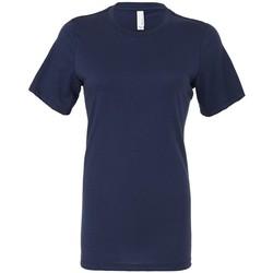 textil Dame T-shirts m. korte ærmer Bella + Canvas BL6400 Navy