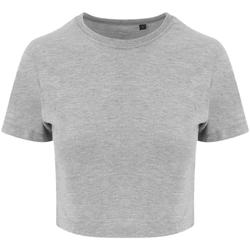 textil Dame T-shirts m. korte ærmer Awdis JT006 Heather Grey