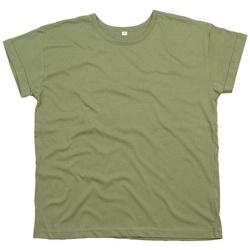 textil Dame T-shirts m. korte ærmer Mantis M193 Olive