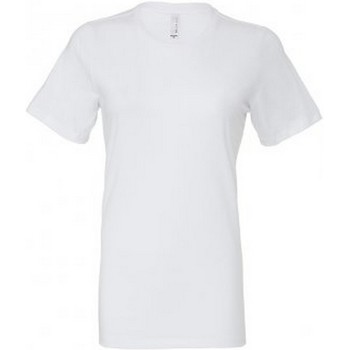 textil Dame T-shirts m. korte ærmer Bella + Canvas BL6400 White