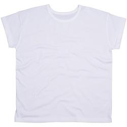 textil Dame T-shirts m. korte ærmer Mantis M193 White