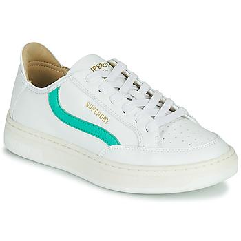 Sko Dame Lave sneakers Superdry BASKET LUX LOW TRAINER Hvid