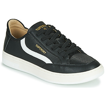 Sko Herre Lave sneakers Superdry BASKET LUX LOW TRAINER Sort