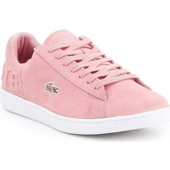 Sko Dame Lave sneakers Lacoste Carnaby Evo Pink