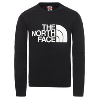 textil Dreng Sweatshirts The North Face DREW PEAK LIGHT CREW Sort