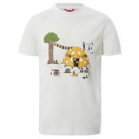 textil Dreng T-shirts m. korte ærmer The North Face GRAPHIC TEE Hvid