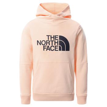 textil Pige Sweatshirts The North Face DREW PEAK HOODIE 2.0 Pink