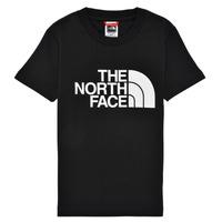 textil Dreng T-shirts m. korte ærmer The North Face EASY TEE Sort